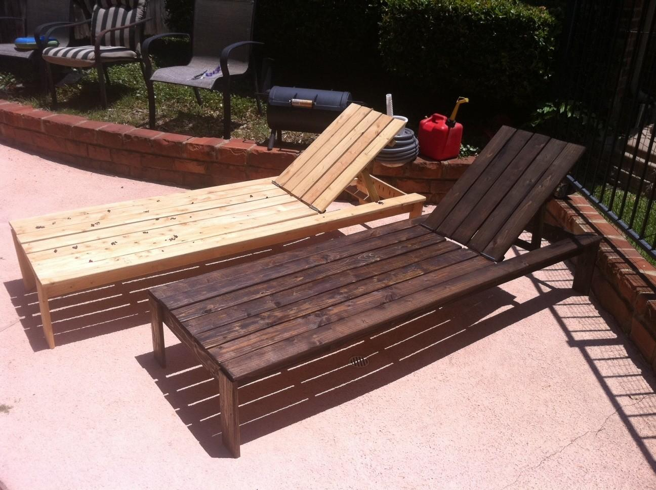 Diy Chaise Lounge Cedar Chair Plans
