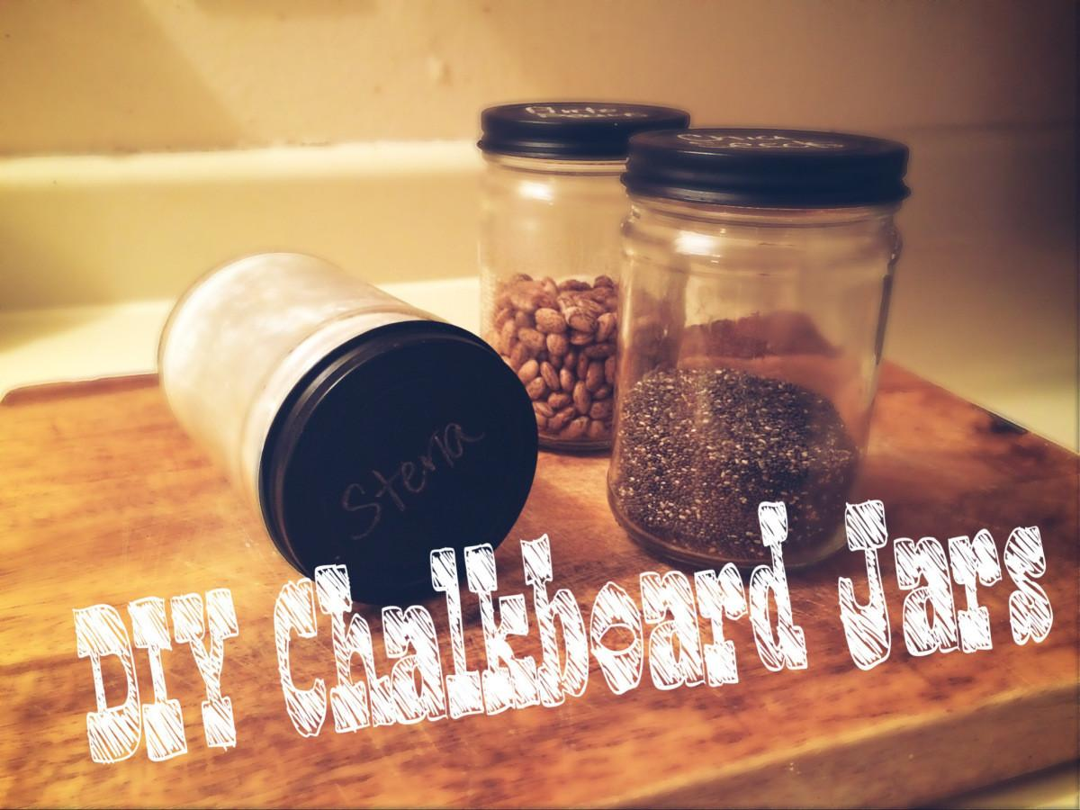 Diy Chalkboard Jars Chocolate Covered Blessings