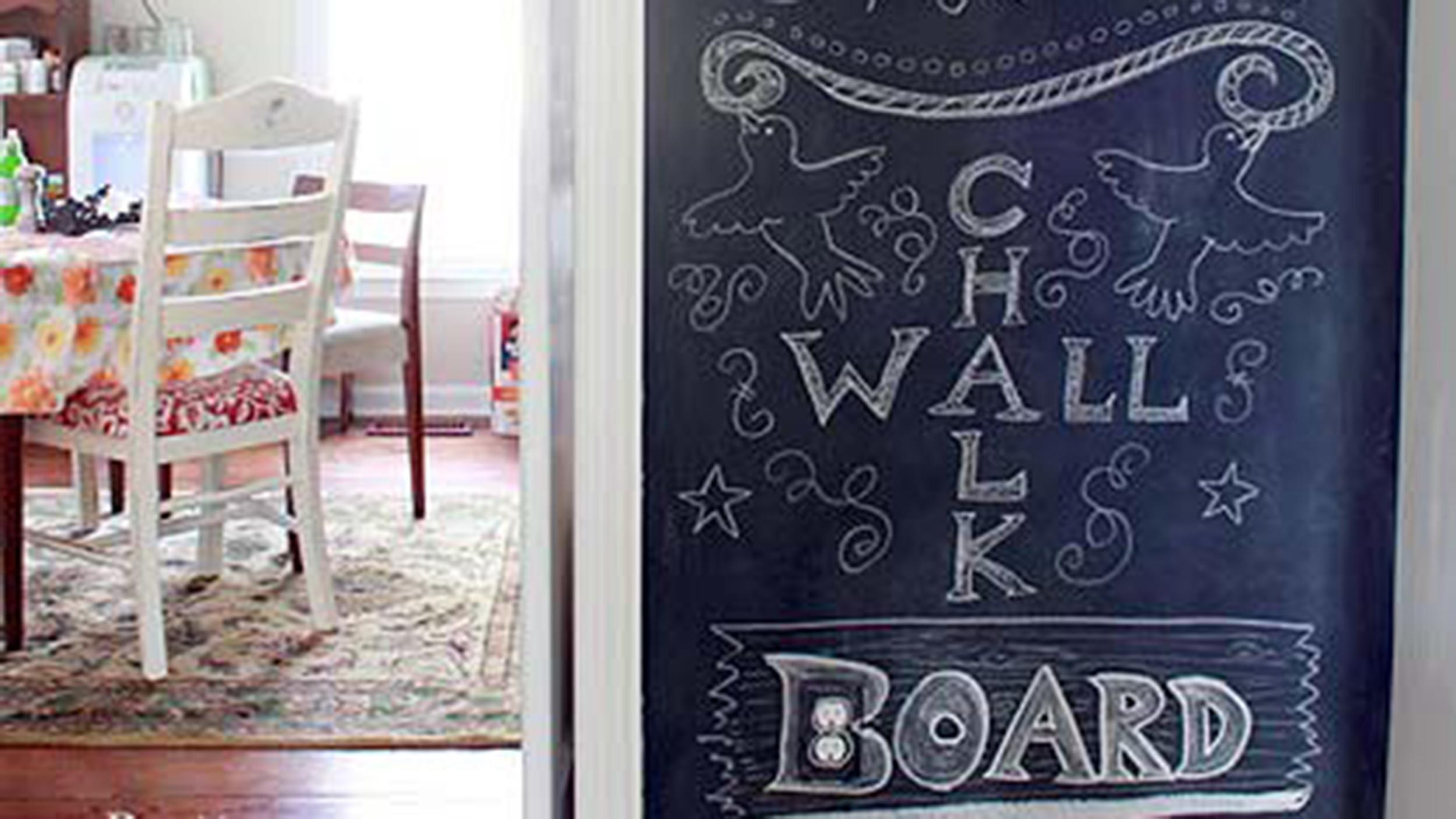 Diy Chalkboard Wall Need Know Today