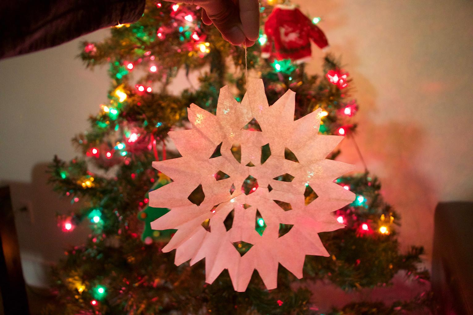 Diy Cheap Christmas Decorations University Star