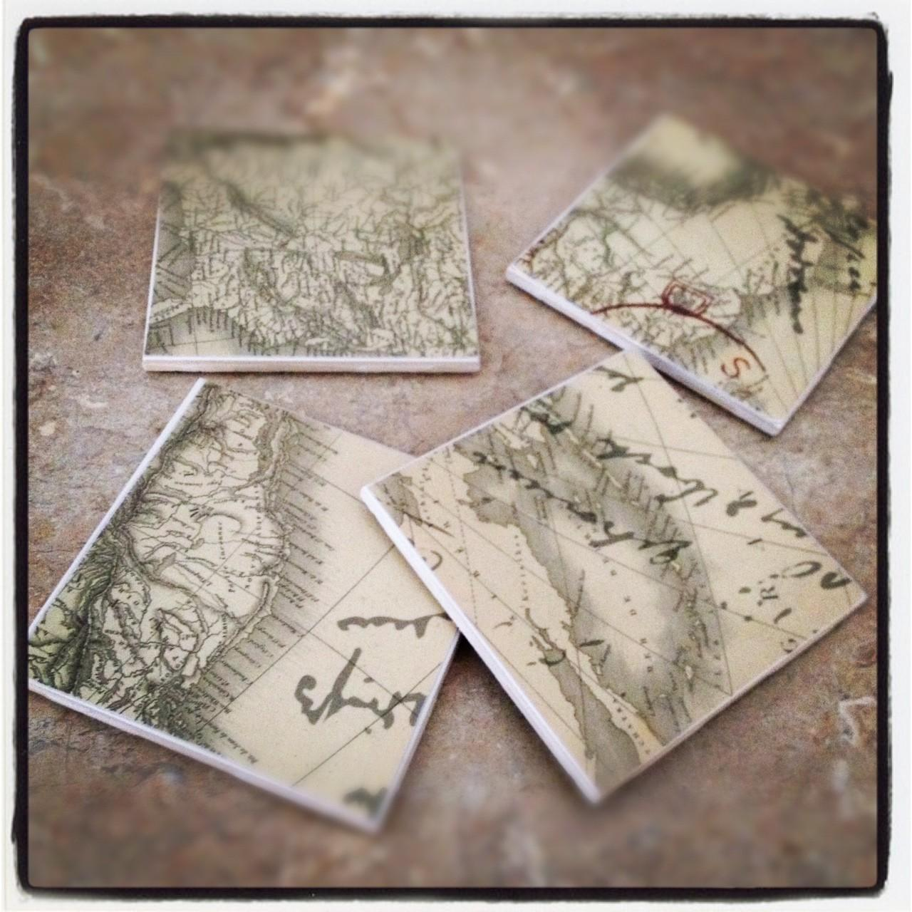 Diy Cheap Easy Tile Coasters Real Housewives Minnesota