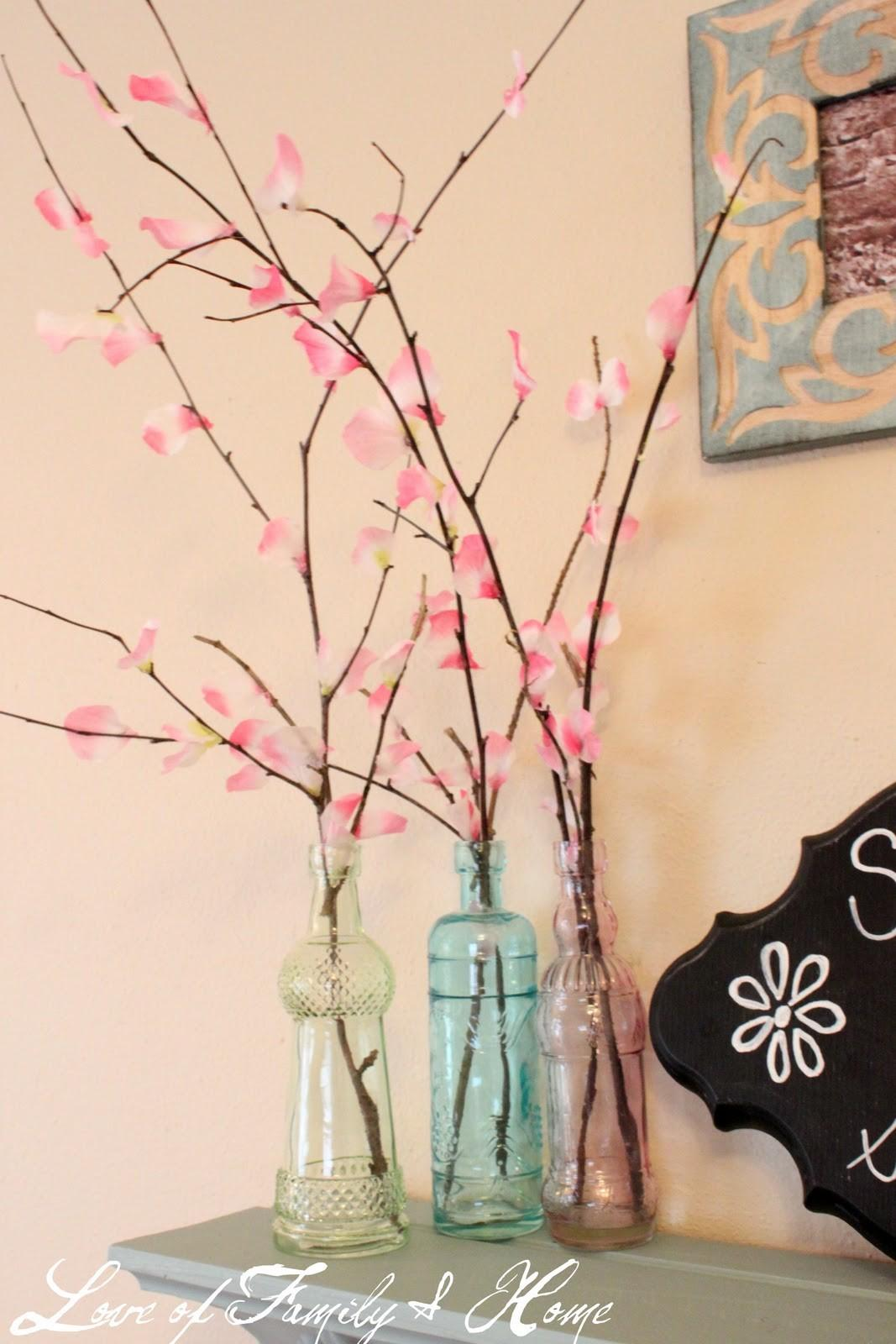 Diy Cherry Blossom Branches Love Family Home