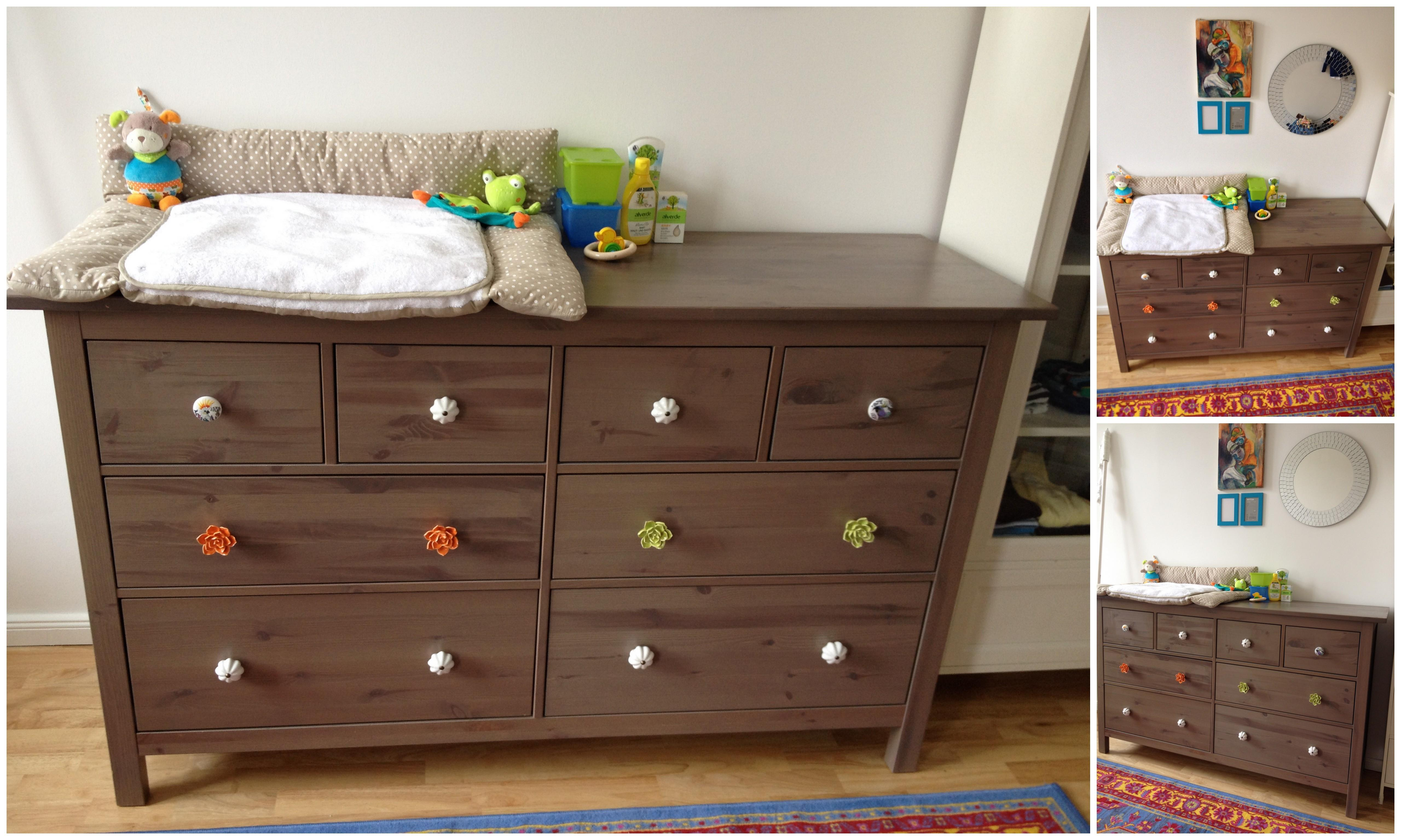 Diy Cherry Wood Dresser Changing Table Top Drawer