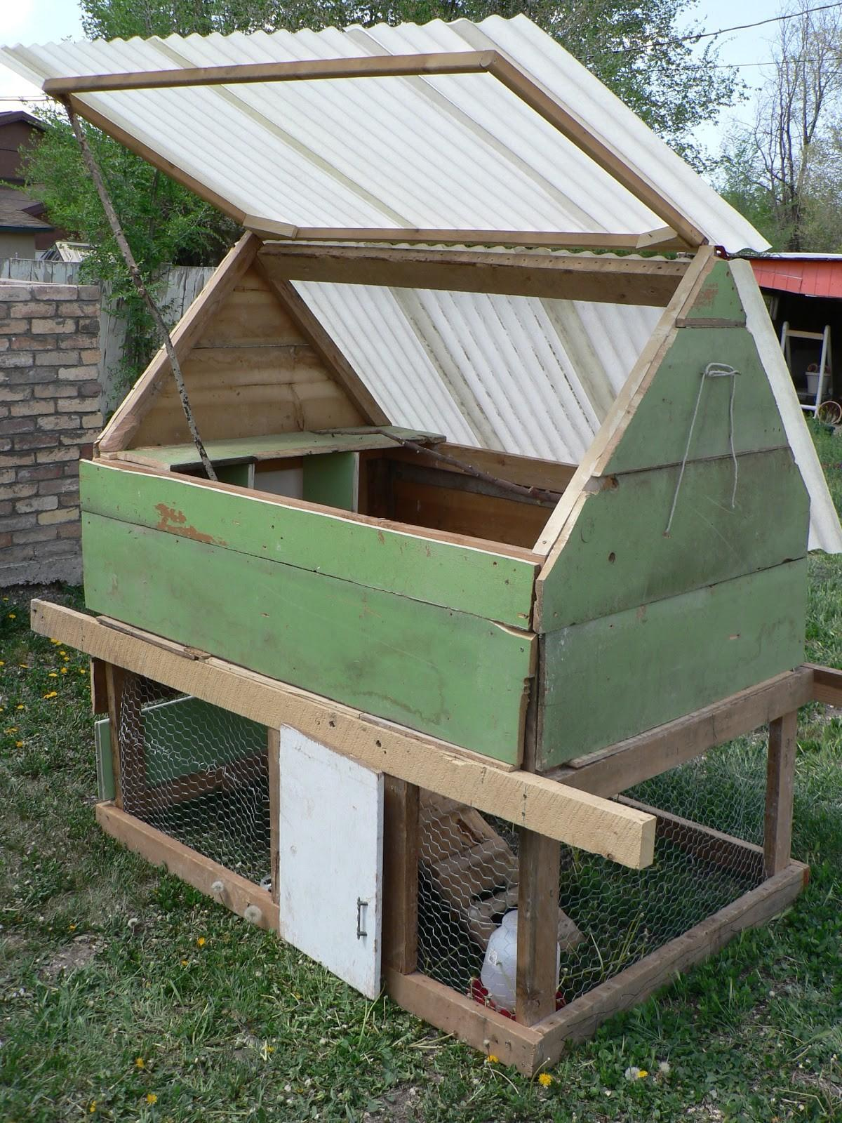 Diy Chicken Coop Bless Mess