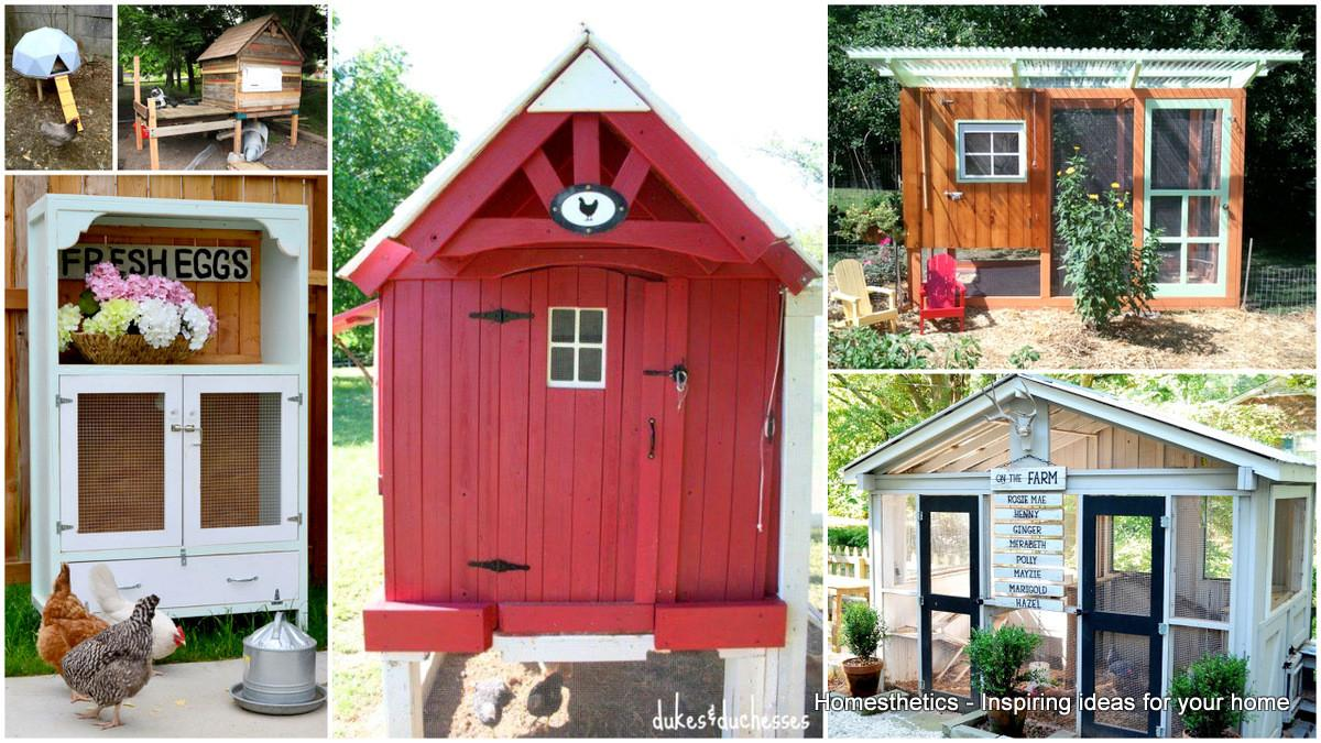 Diy Chicken Coop Plans Easy Build Tutorials 100