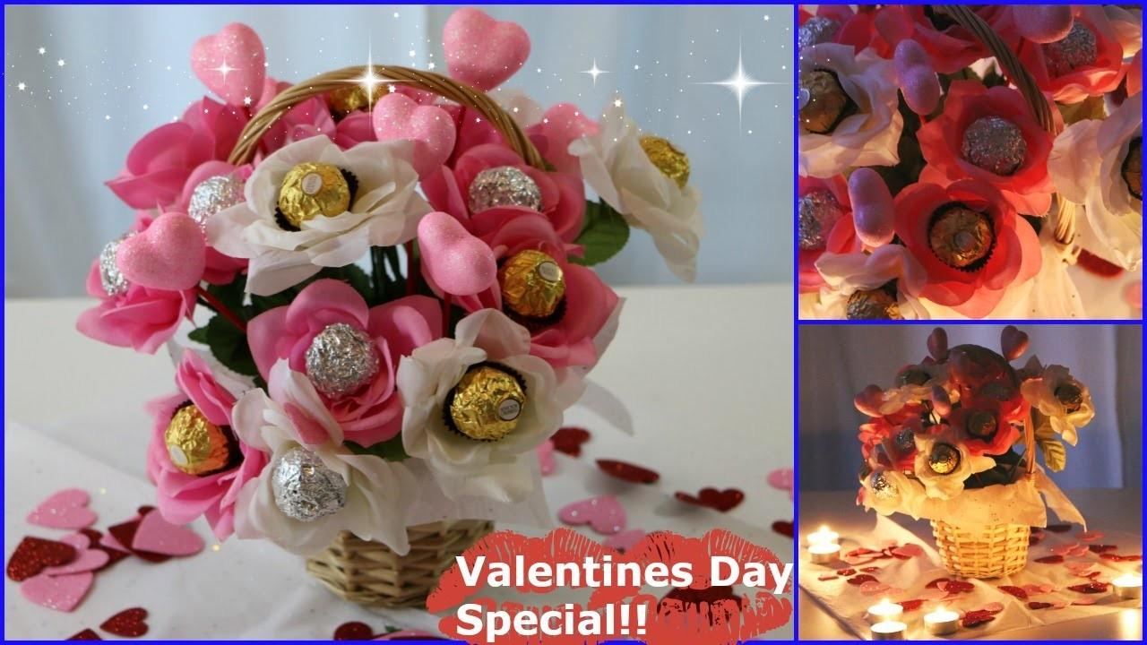 Diy Chocolate Bouquet Valentines Day Special Laxmi