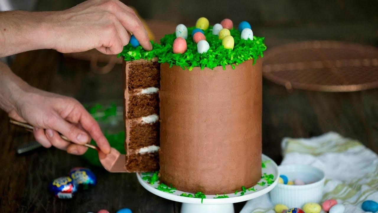 Diy Chocolate Easter Cake Crafts Projects