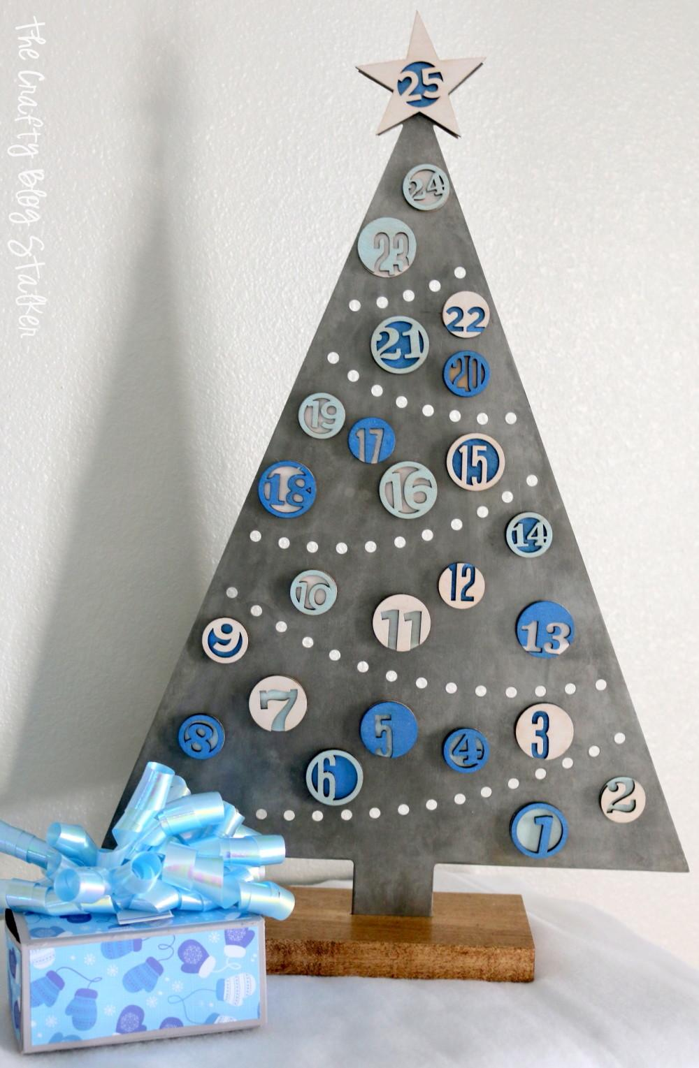 Diy Christmas Advent Calendar Tutorials Crafty