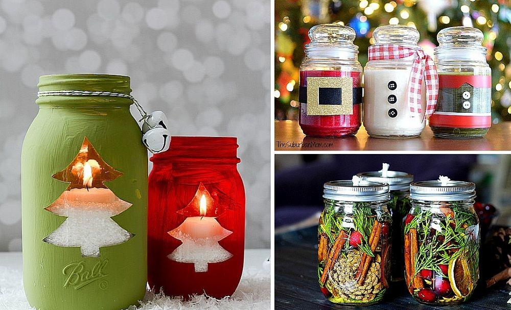 Diy Christmas Candles Easy Gift Decoration Ideas