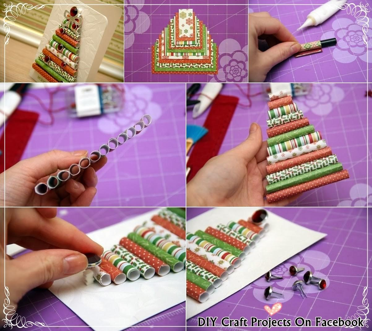 Diy Christmas Card Craft Projects