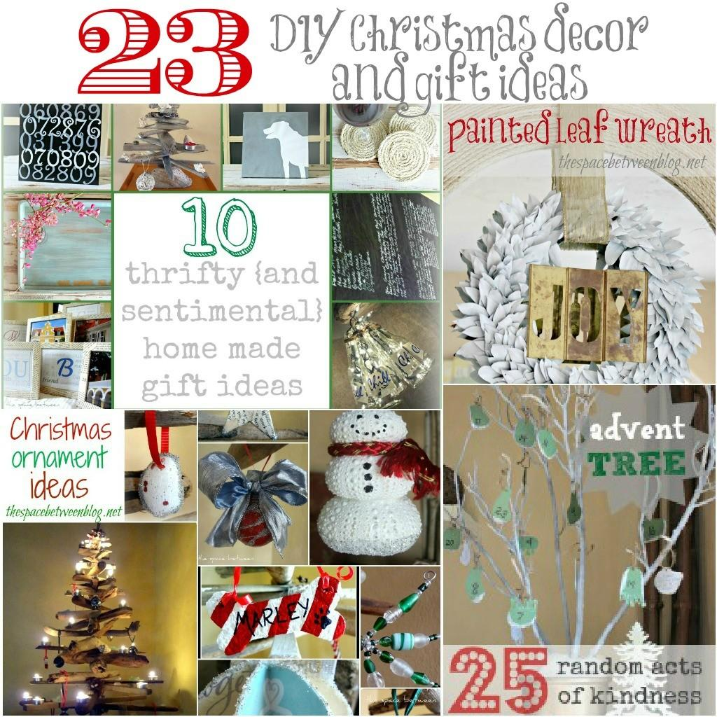 Diy Christmas Decor Gift Ideas