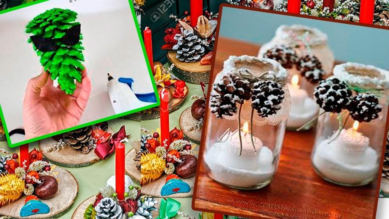 Diy Christmas Decoration Ideas 2017 Recycling Pine