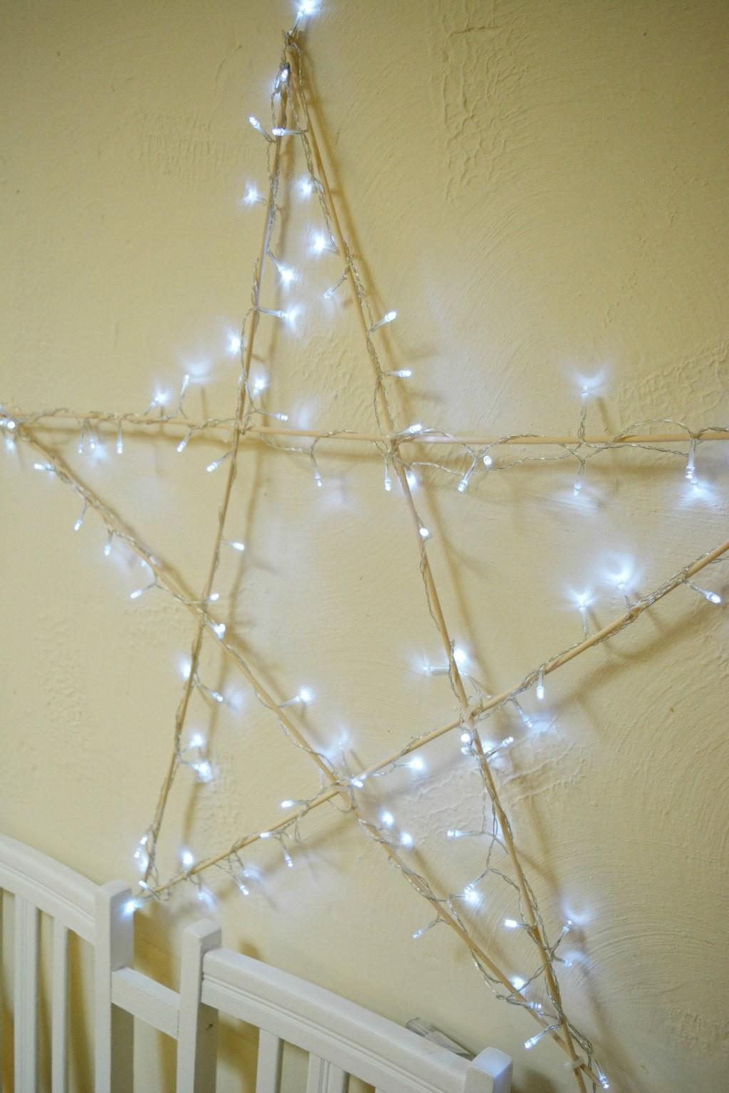 Diy Christmas Decoration Light Star Vicky Myers Creations