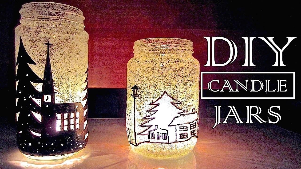 Diy Christmas Decorations Gifts Jar
