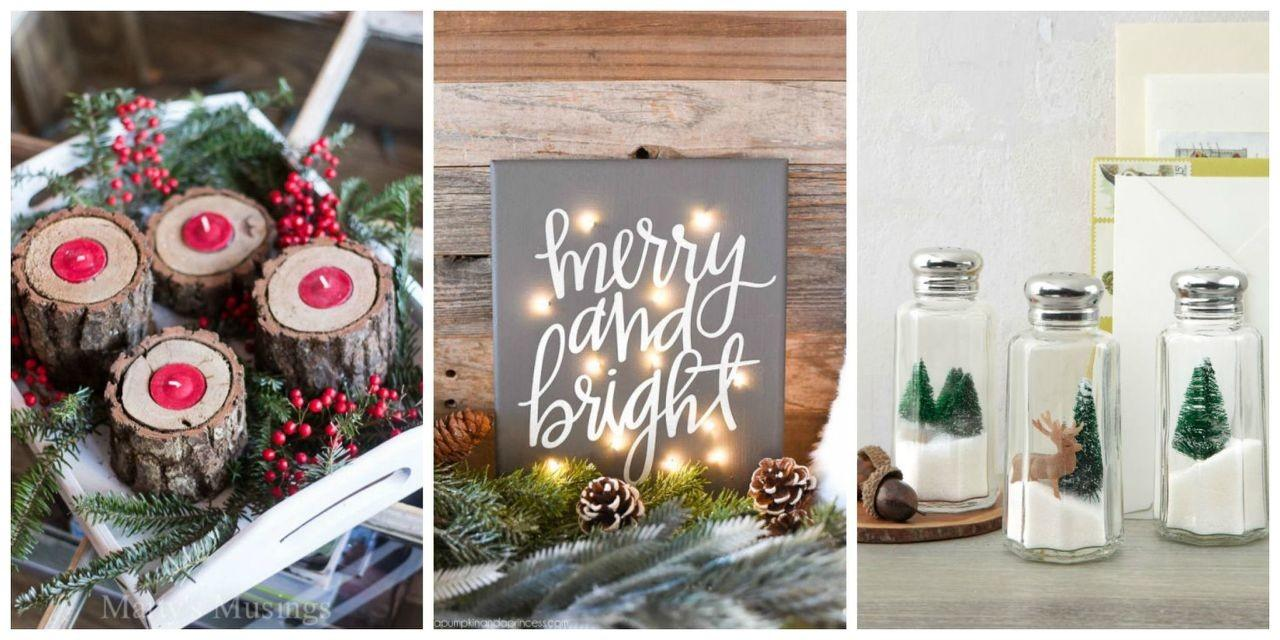 Diy Christmas Decorations Merry Bright