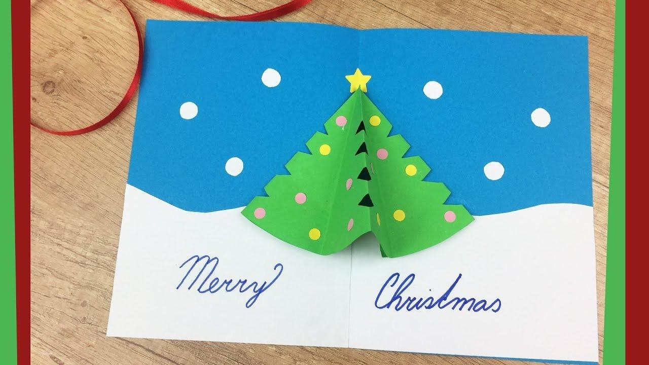 Diy Christmas Gift Card Pop Tree Easy