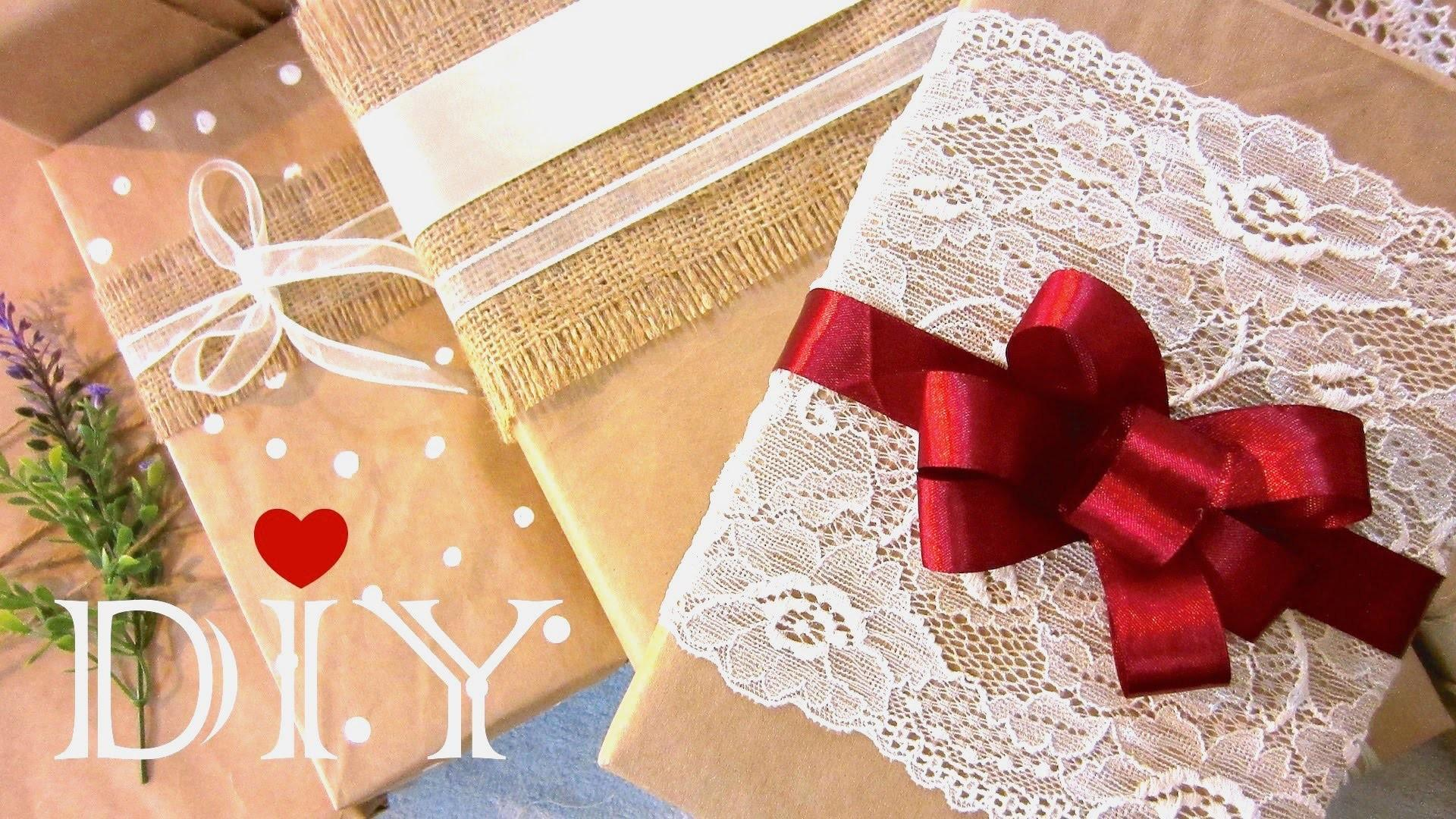Diy Christmas Gift Wrapping Ideas Make Bow