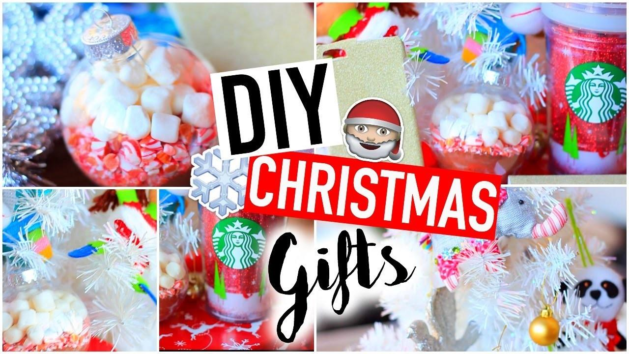 Diy Christmas Gifts Easy Affordable Holiday