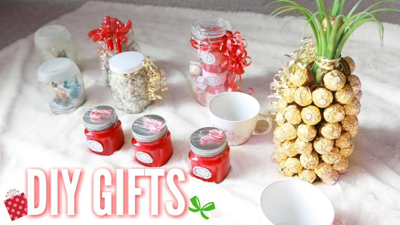 Diy Christmas Gifts Easy Home Gift Ideas