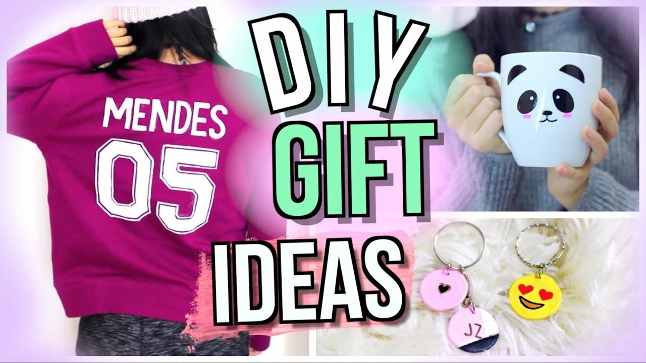 Diy Christmas Gifts Friends Girls Guys Family