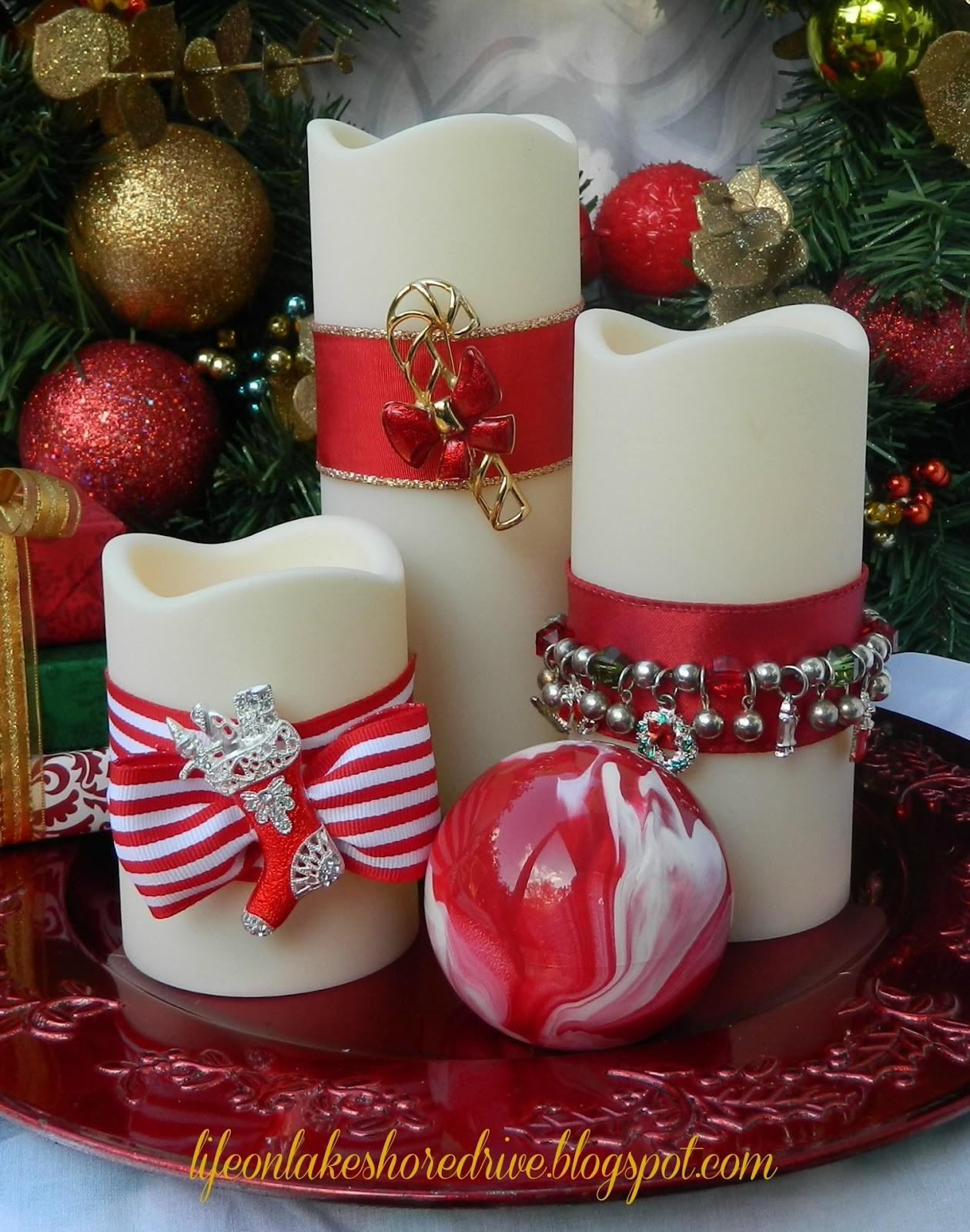 Diy Christmas Jewelry Candles Life Lakeshore Drive
