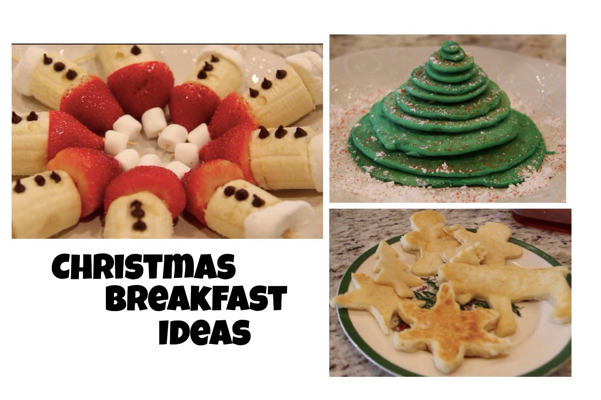 Diy Christmas Morning Breakfast Ideas Treats