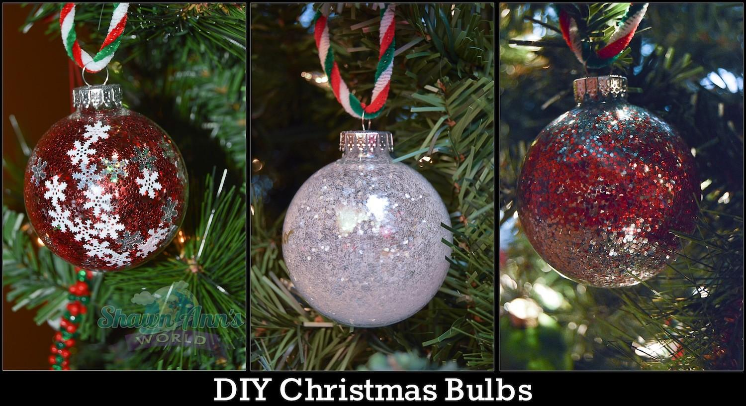 Diy Christmas Ornament Bulbs Tbccrafters