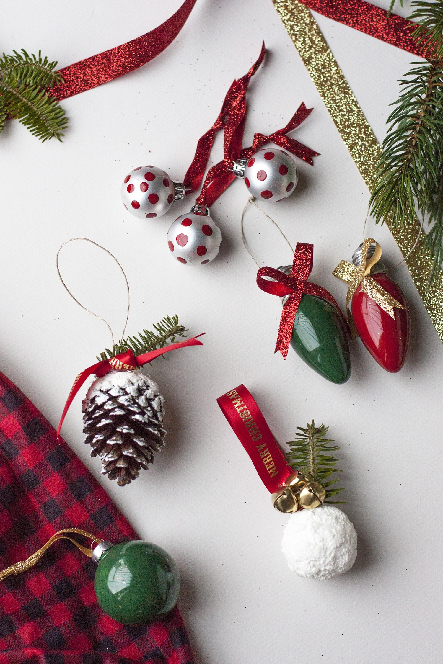 Diy Christmas Ornaments Thrifty Ideas Small Stuff Counts
