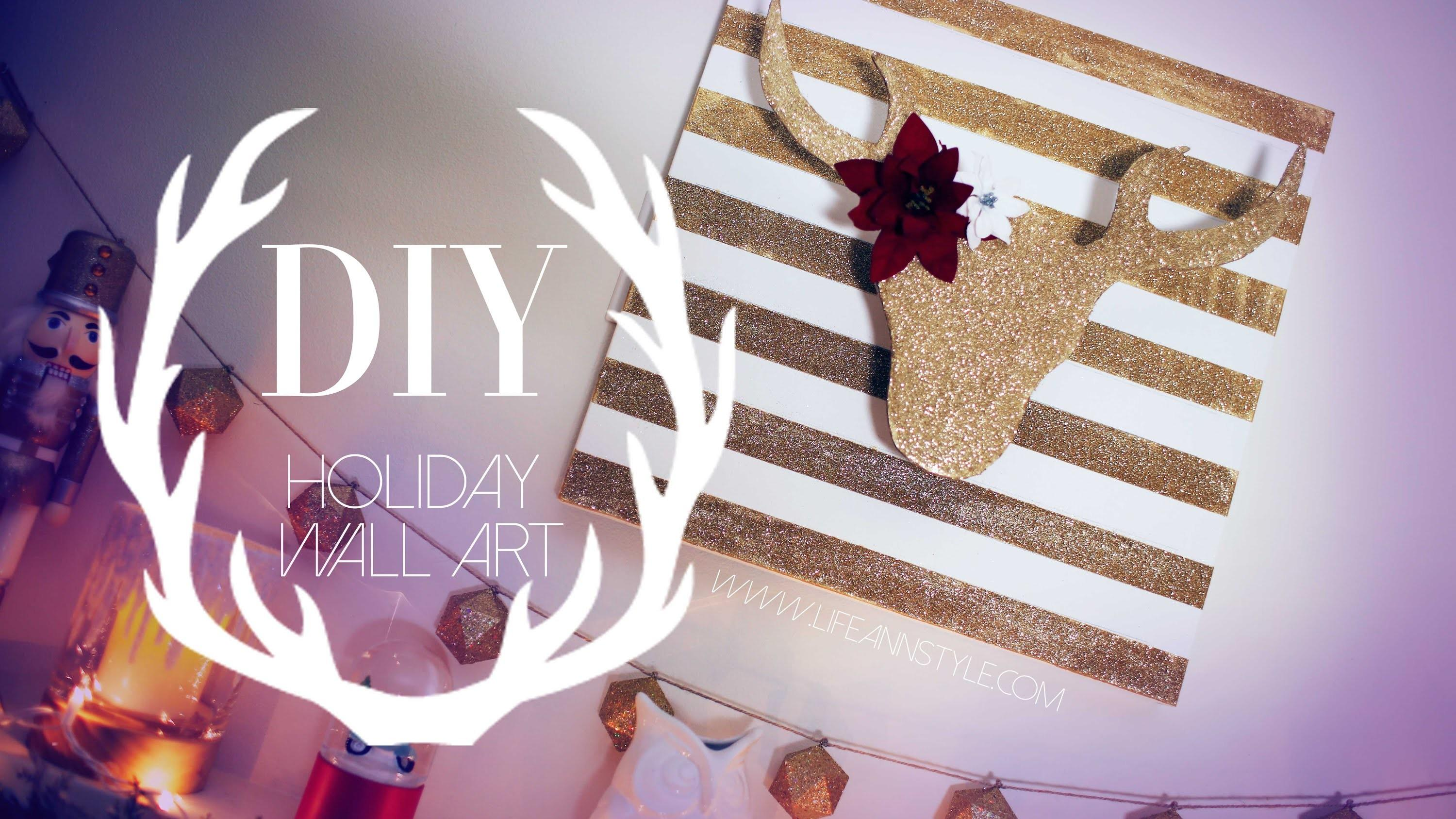 Diy Christmas Reindeer Decor Diymas Anneorshine