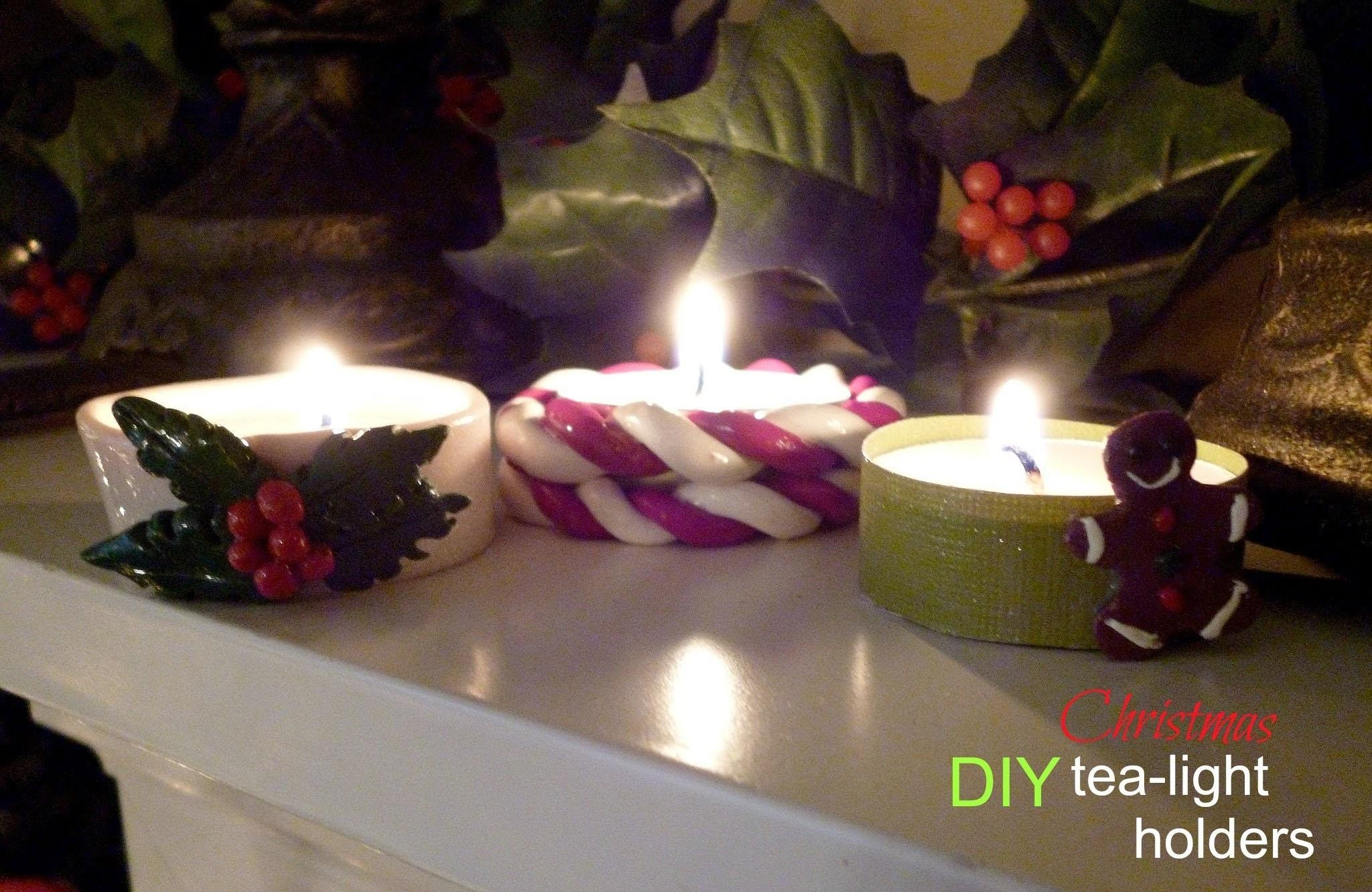 Diy Christmas Tea Light Holders