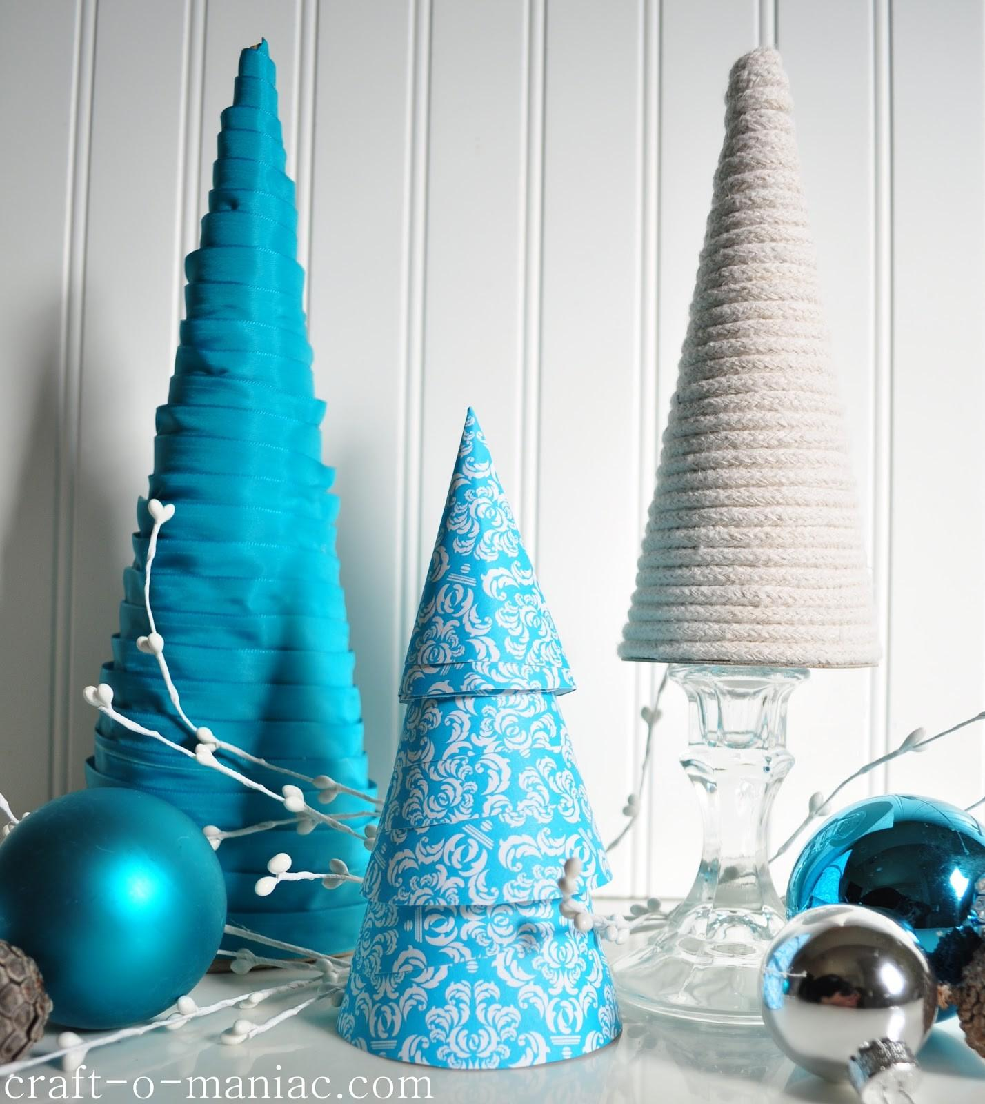 Diy Christmas Tree Cones Craft Maniac