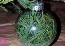 Diy Christmas Tree Glass Ornament Tinalute