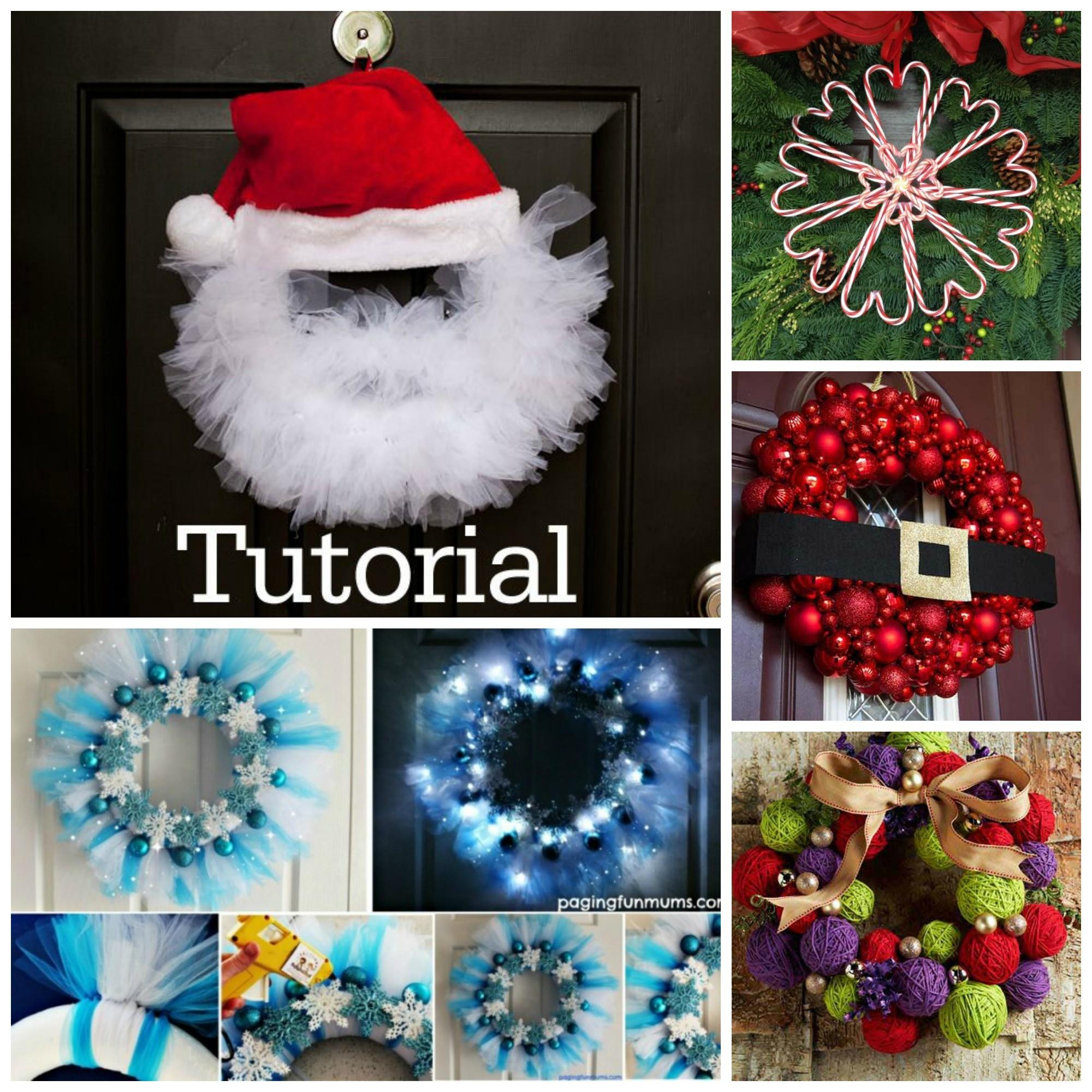 Diy Christmas Wreath Projects Adore Your Home