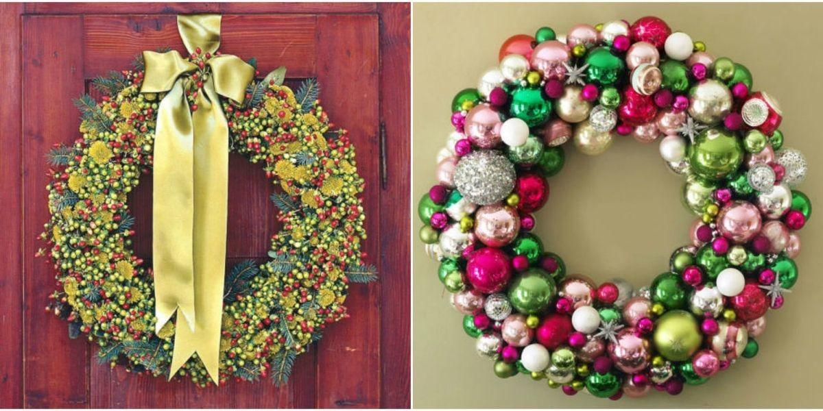 Diy Christmas Wreaths Make Holiday Wreath