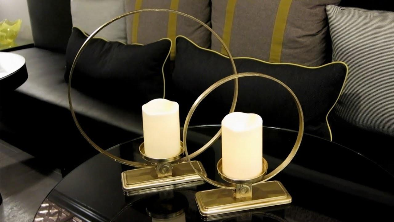 Diy Cirque Pillar Candle Holders Gallerie Inspired