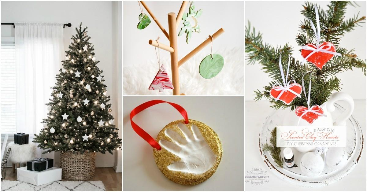 Diy Clay Christmas Ornaments Add Homemade Style