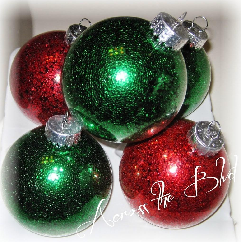 Diy Clear Christmas Ornaments Across Boulevard