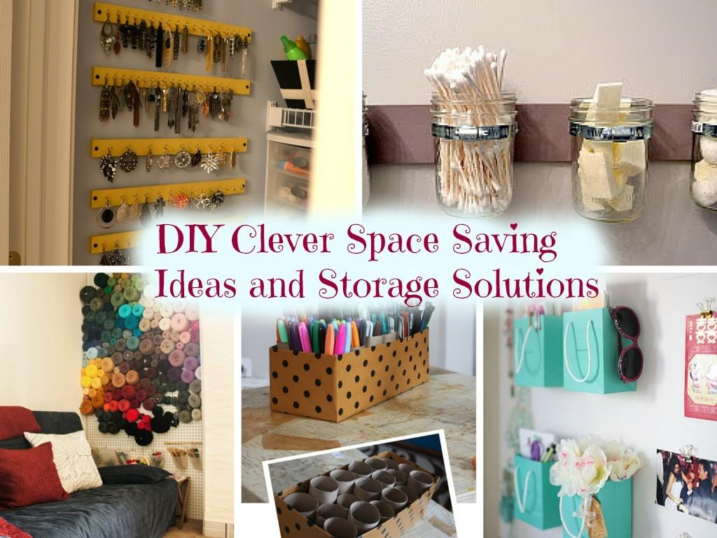 Diy Clever Space Saving Ideas Storage Solutions