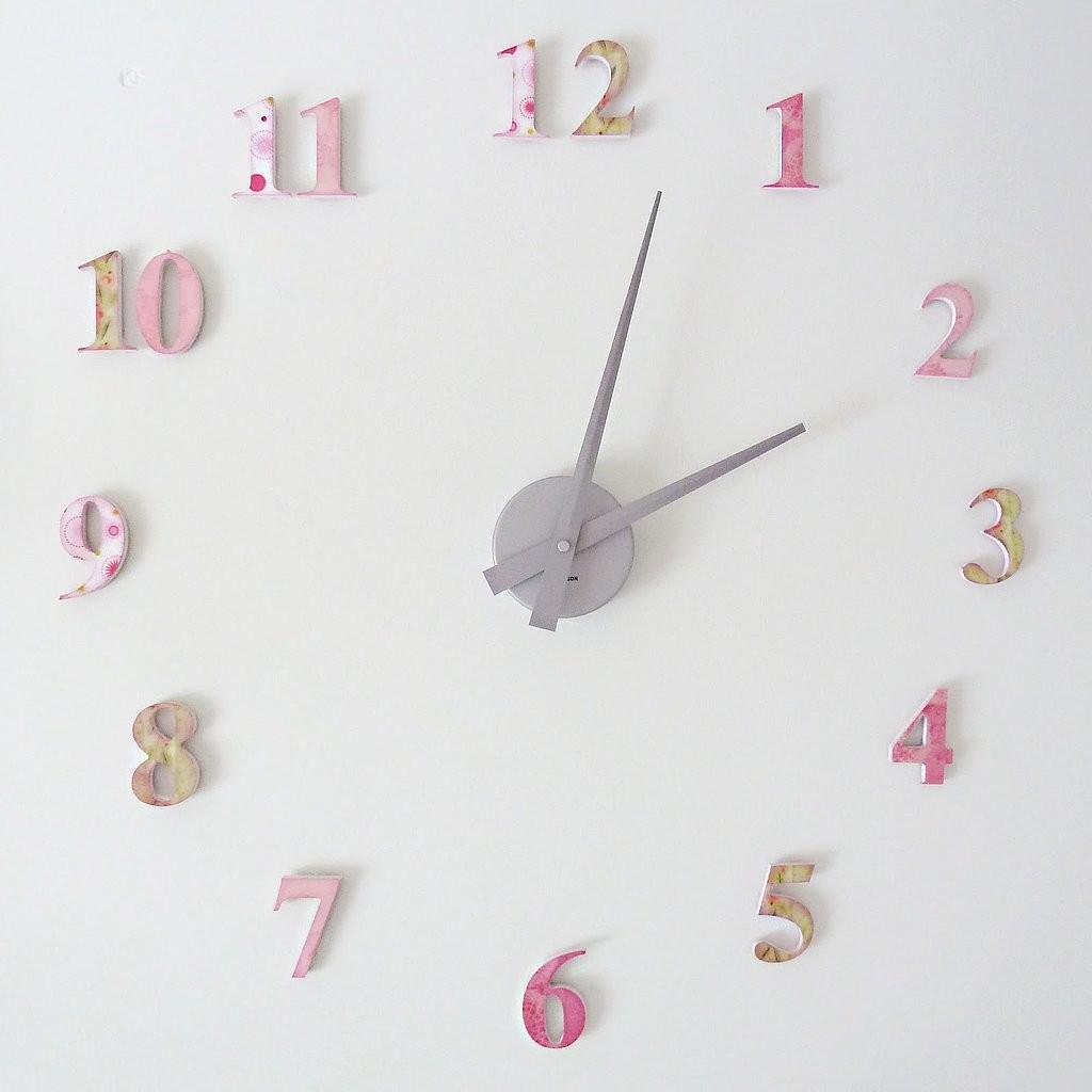 Diy Clock Decor Ideas Baby Nursery