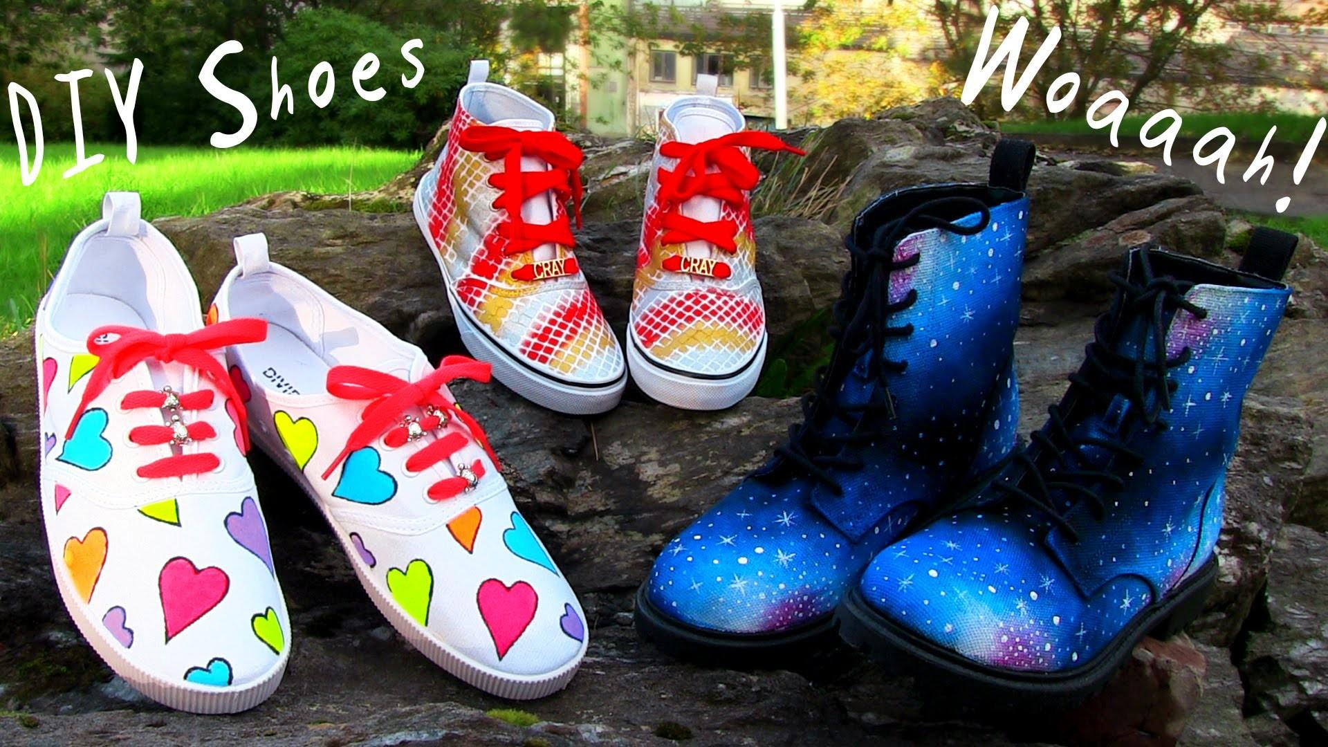 Diy Clothes Shoes Projects Sneakers Boots