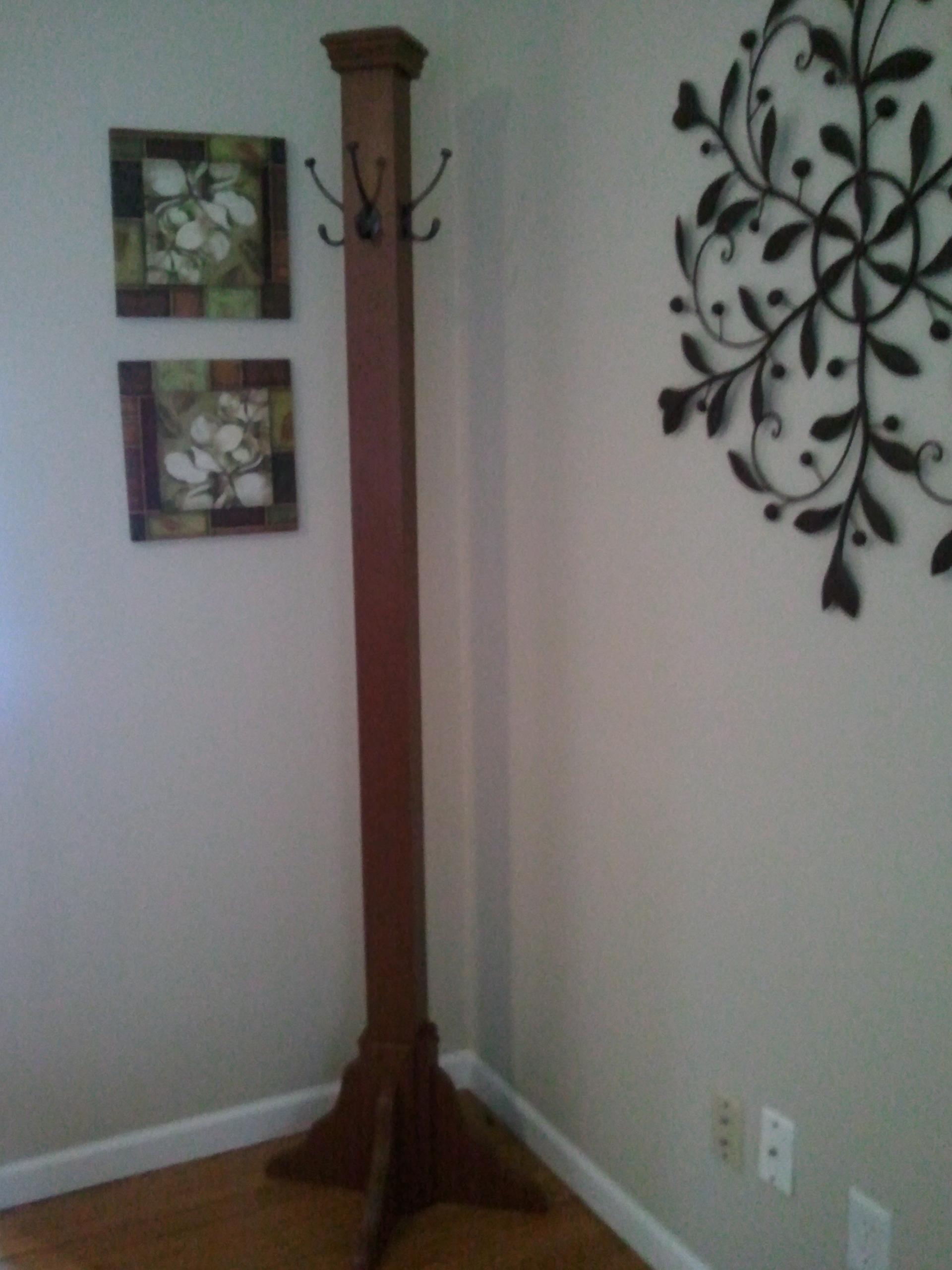 Diy Coat Rack Made Completed Projects