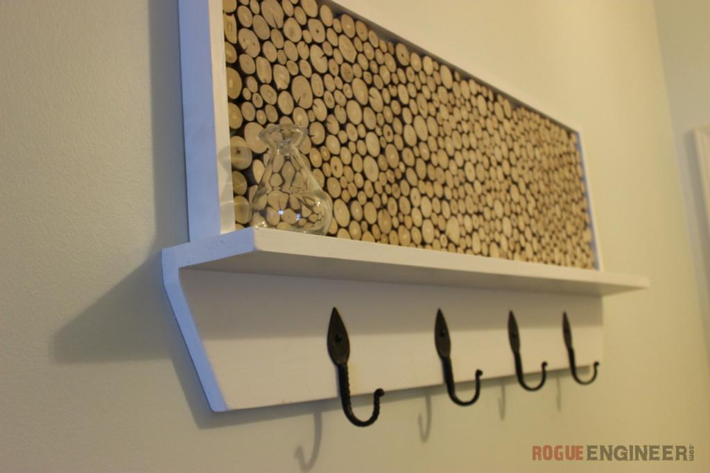 Diy Coat Rack Plans Feature Area Rogue Engineer