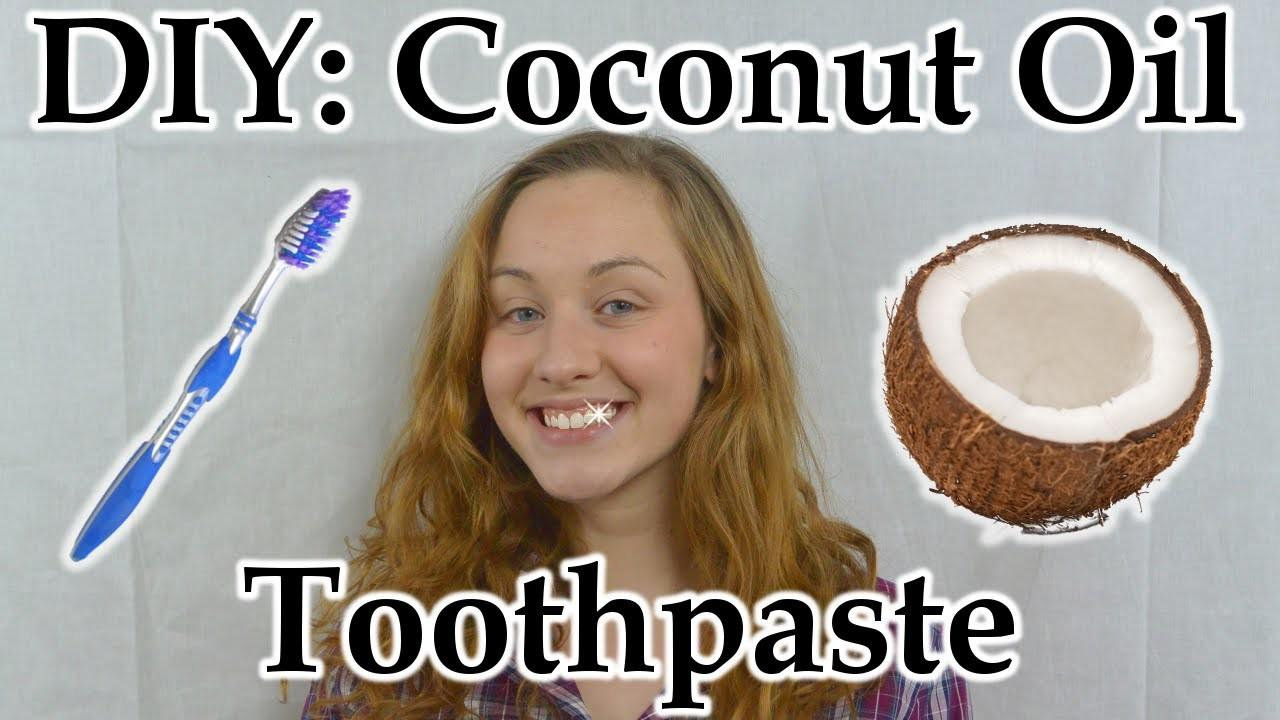 Diy Coconut Oil Toothpaste Why