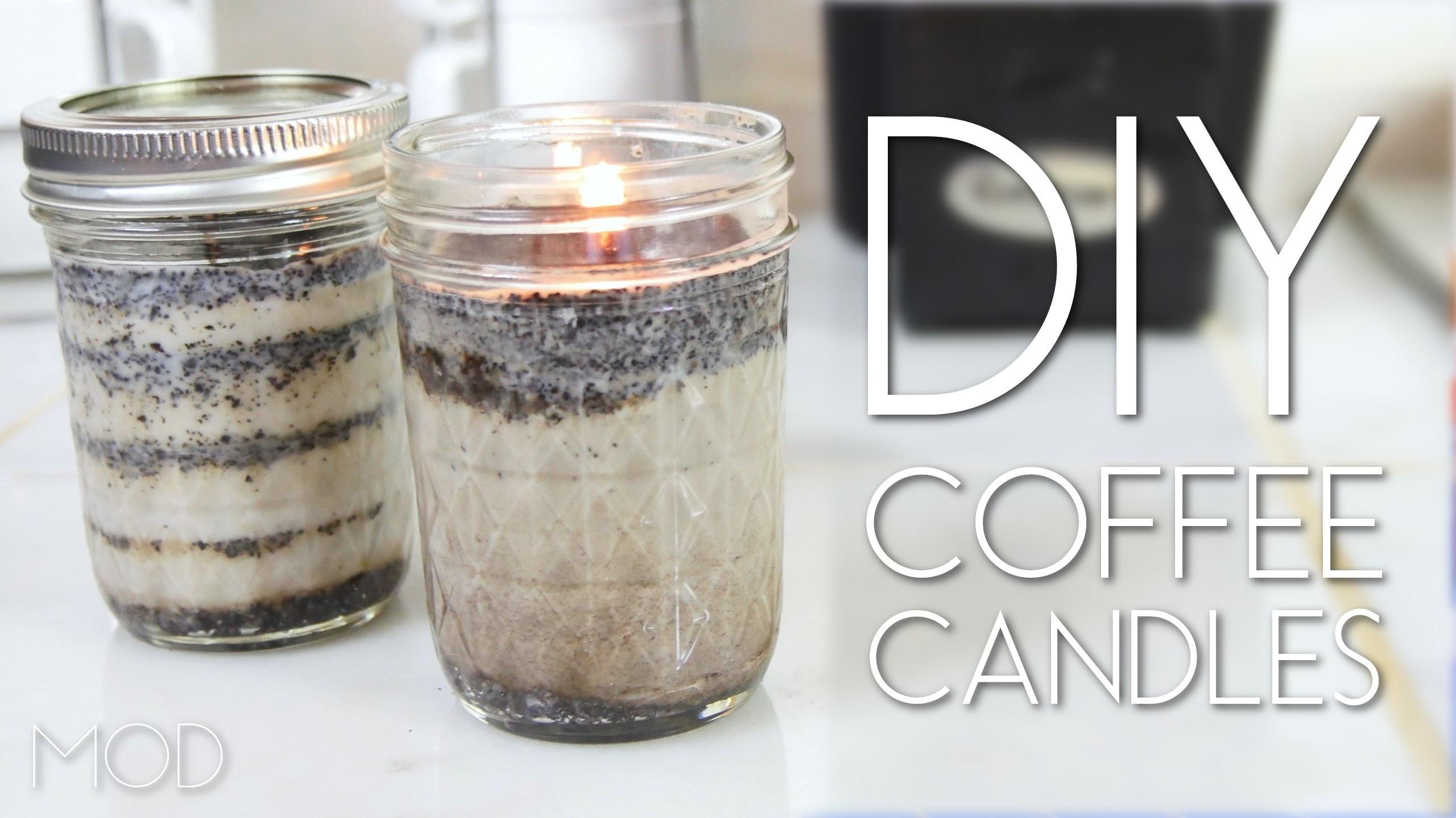 Diy Coffee Candles Mini Mod