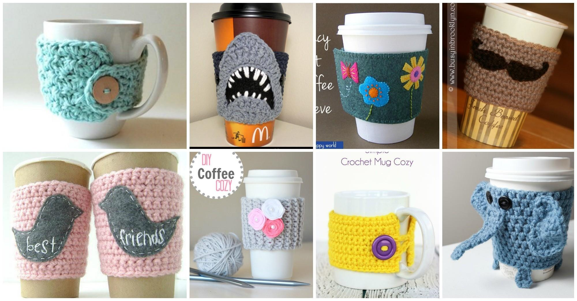 Diy Coffee Cozy Ideas Make Your Cup Unique