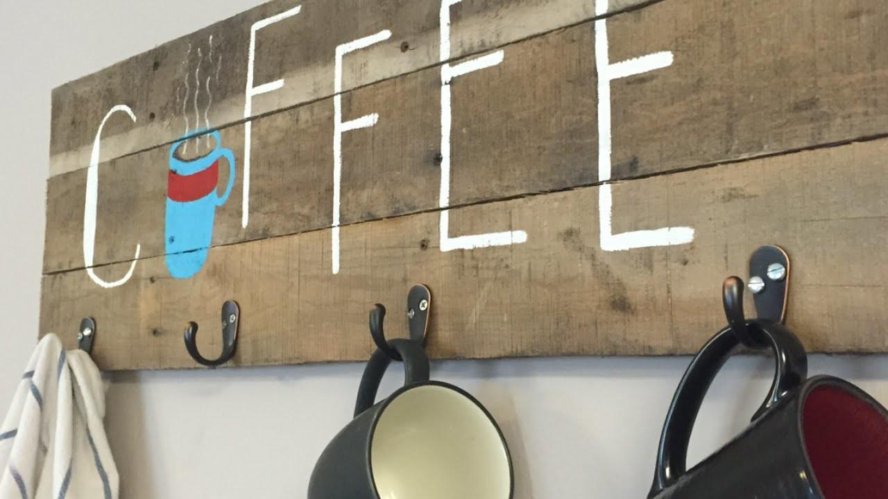 Diy Coffee Racks Organize Your Morning Cup Joe