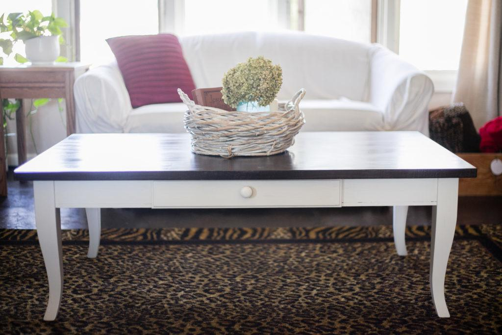 Diy Coffee Table Makeover Chic Obsession