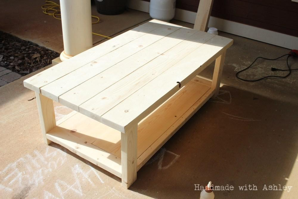 Diy Coffee Table Plans Ana White Decor References