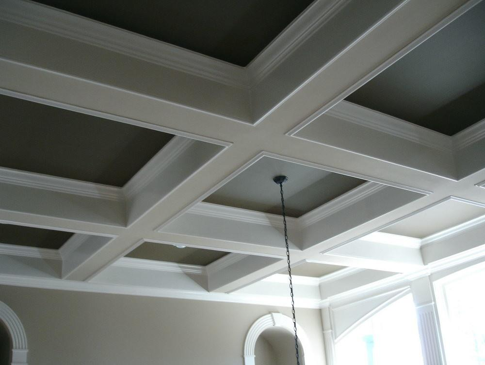 Diy Coffered Ceiling Tray All Furniture Wooden Style