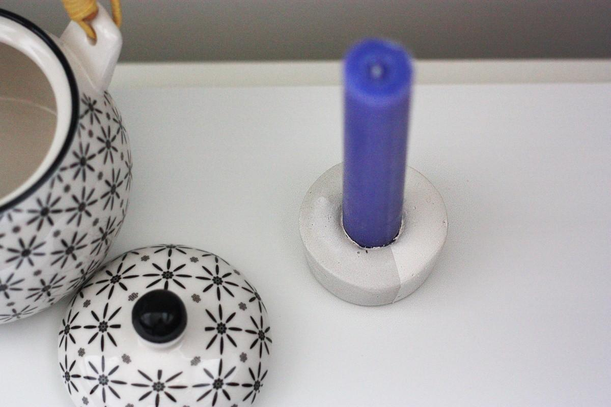 Diy Concrete Candle Holder